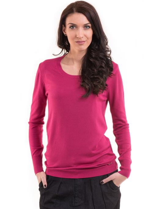 Дамска блуза  KAZEE 11052 - тъмно розова