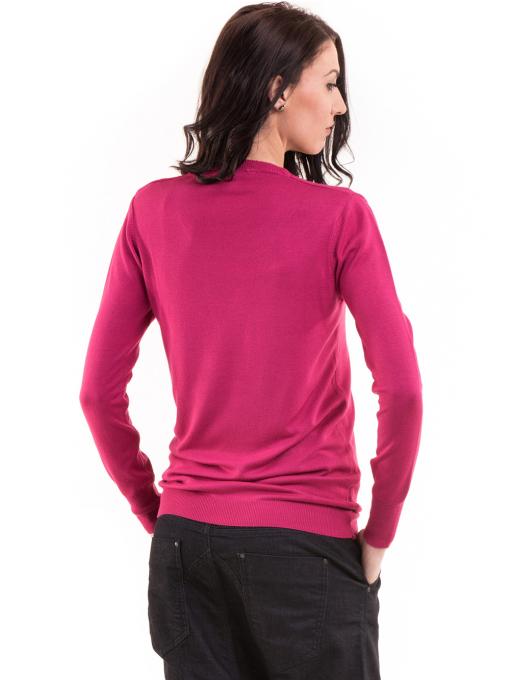 Дамска блуза  KAZEE 11052 - тъмно розова B