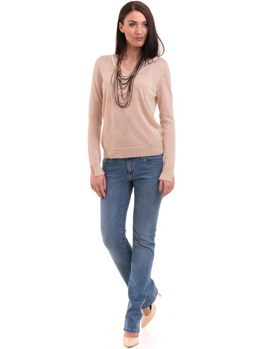 Дамска блуза KOTON 93864 - светло бежова C