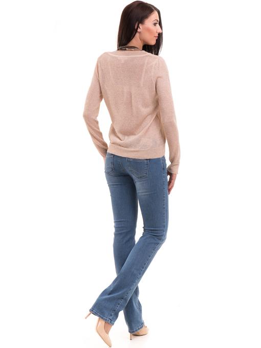 Дамска блуза KOTON 93864 - светло бежова E