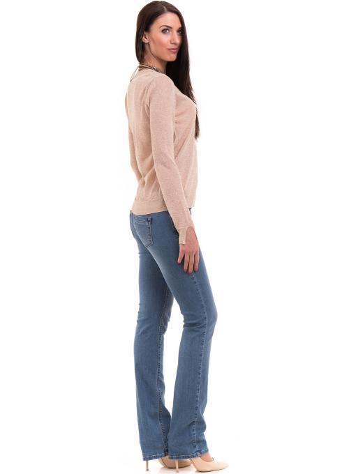 Дамска блуза KOTON 93864 - светло бежова C2