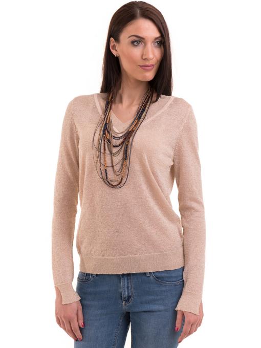 Дамска блуза KOTON 93864 - светло бежова