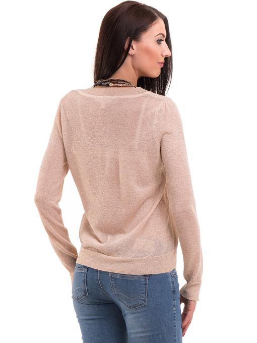 Дамска блуза KOTON 93864 - светло бежова B