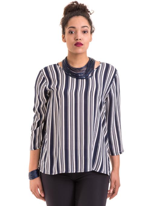 Дамска блуза KOTON B76884 - синя