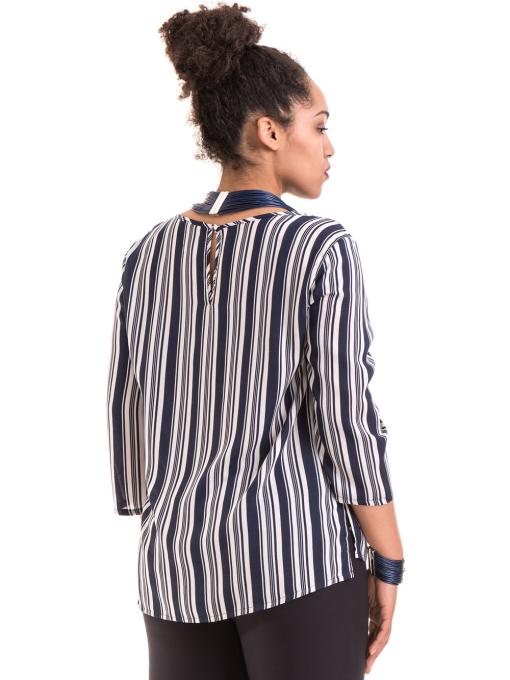 Дамска блуза KOTON B76884 - синя B