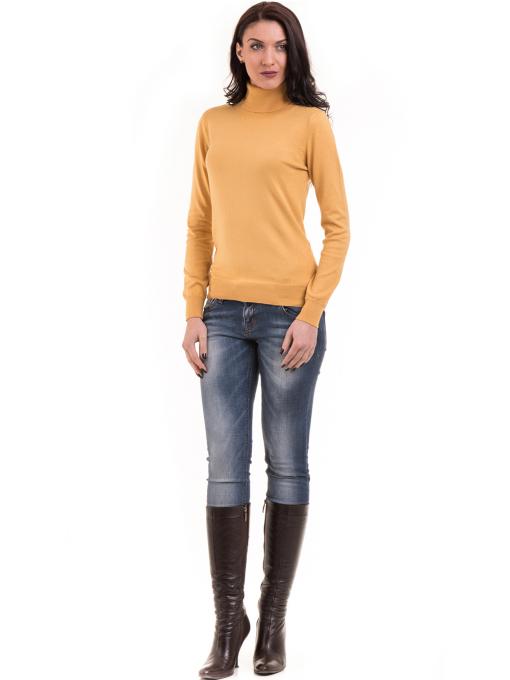 Дамска блуза STAMINA 17001 - цвят горчица C
