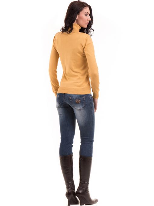 Дамска блуза STAMINA 17001 - цвят горчица E