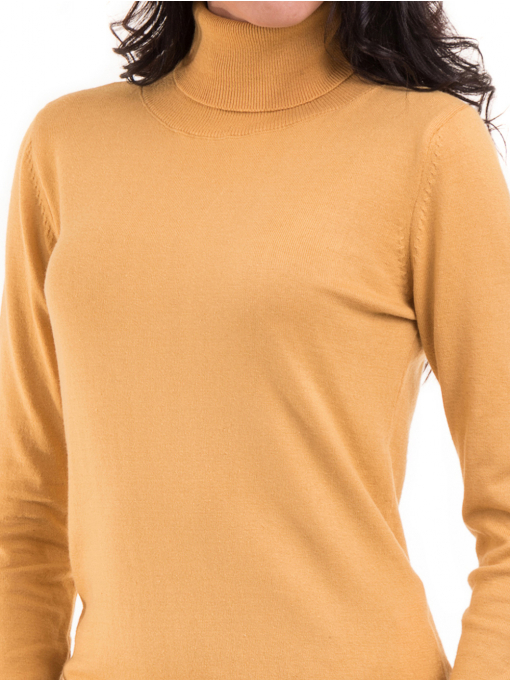 Дамска блуза STAMINA 17001 - цвят горчица D
