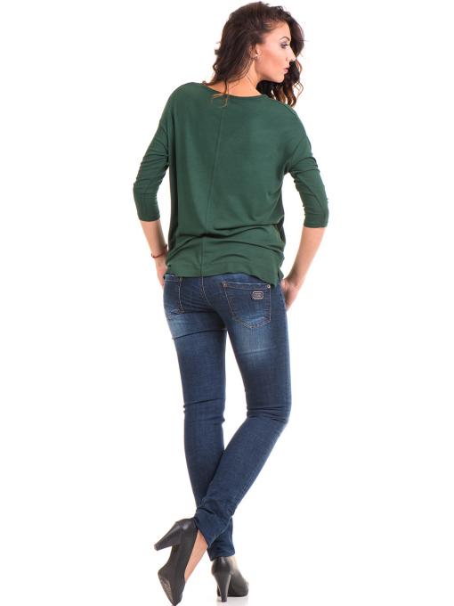 Дамска блуза с обло деколте STAMINA 239 - каки E