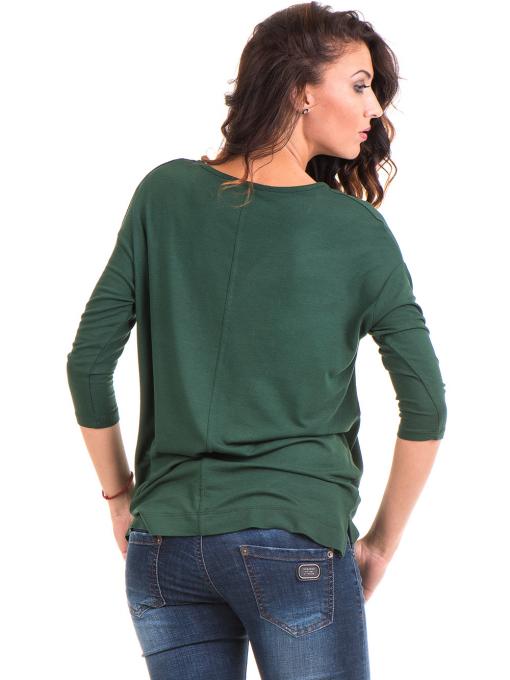 Дамска блуза с обло деколте STAMINA 239 - каки B