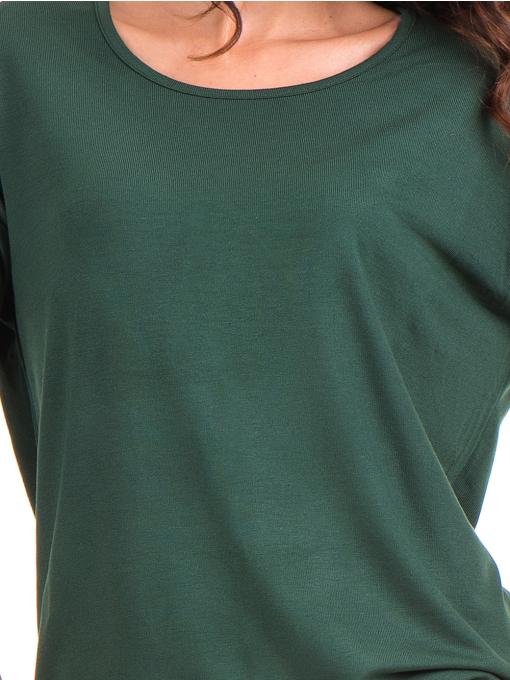 Дамска блуза с обло деколте STAMINA 239 - каки D