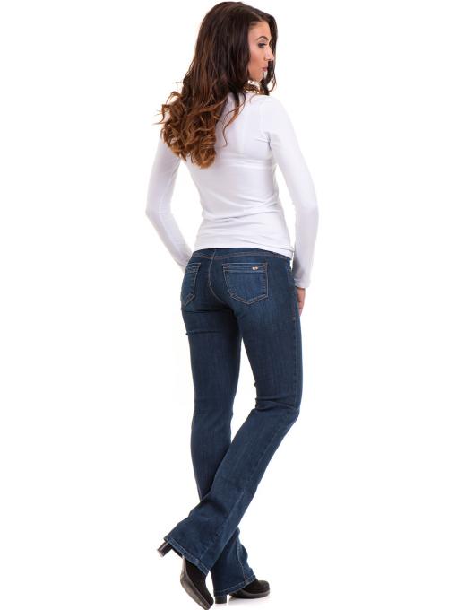 Дамска вталена блуза XINT 093- бяла E