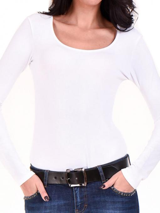 Дамска блуза - тип боди XINT 284 INDIGO Fashion