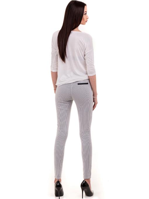 Дамска блуза XINT свободен модел 728 - бяла E