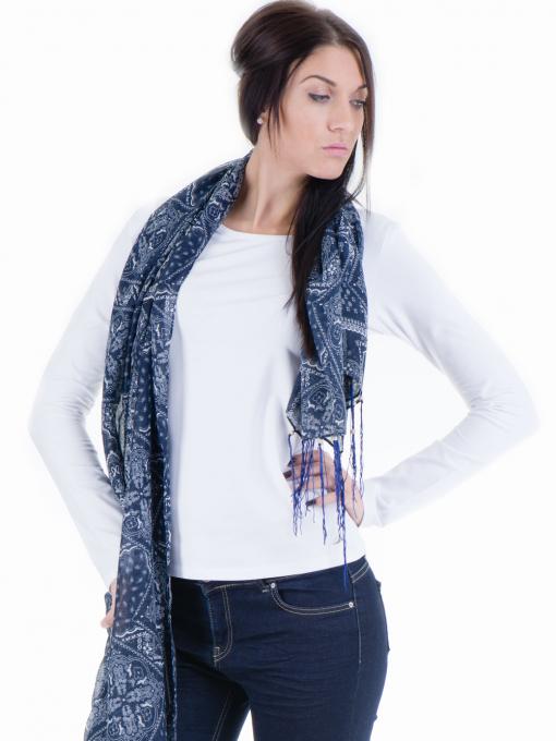 Дамска вталена блуза XINT 852 - бяла