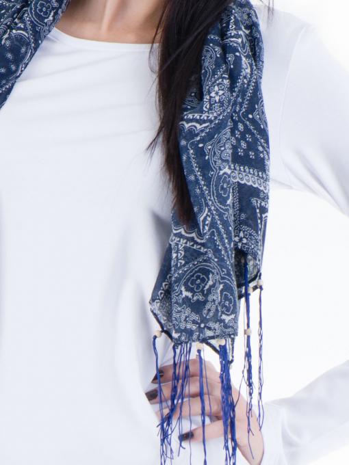 Дамска вталена блуза XINT 852 - бяла D