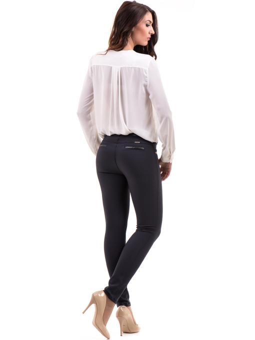 Елегантна дамска блуза ZANZI 16024 - бяла E