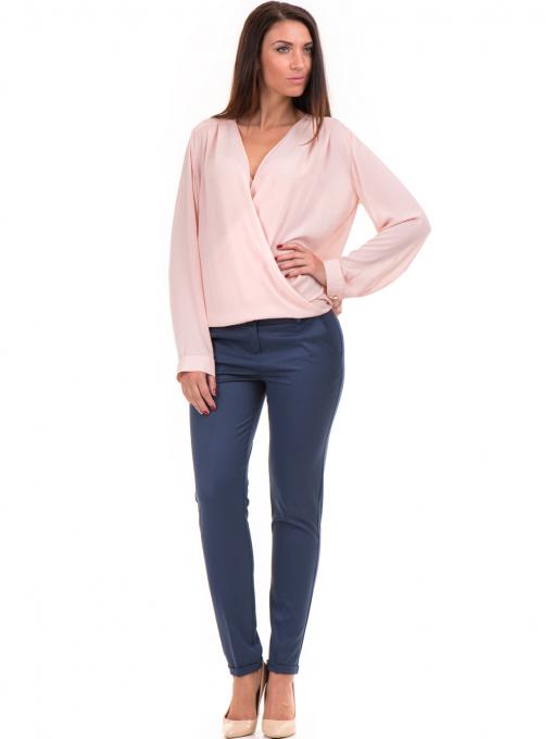 Елегантна дамска блуза ZANZI 16024 - розова C