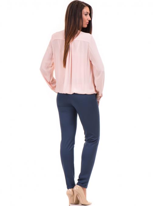 Елегантна дамска блуза ZANZI 16024 - розова E