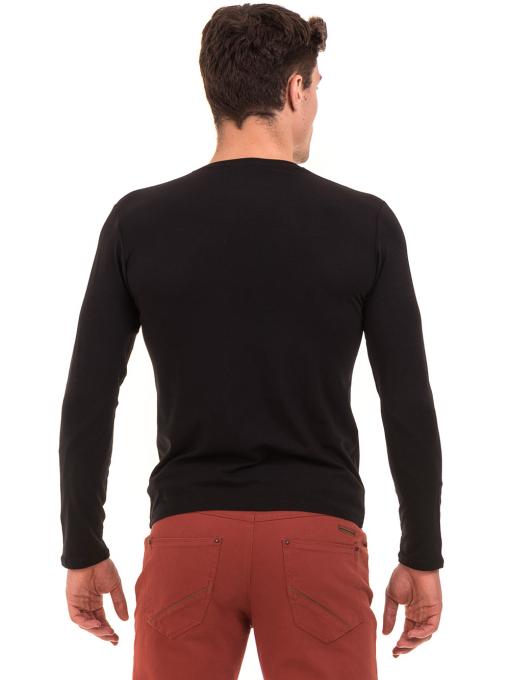 Мъжка спортна блуза MCL 27963 - черна B