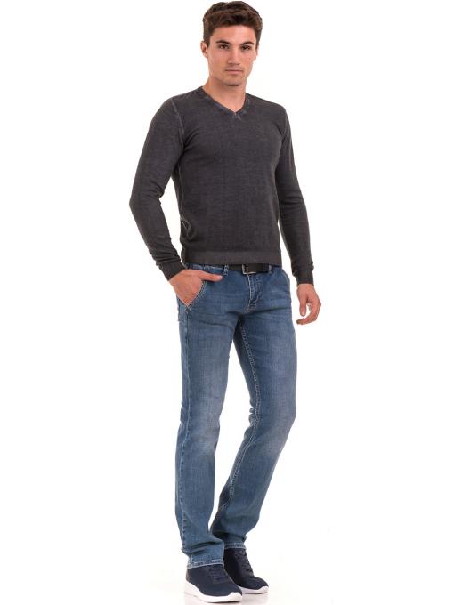Мъжки класически дънки LACARINO 3336A - деним C2