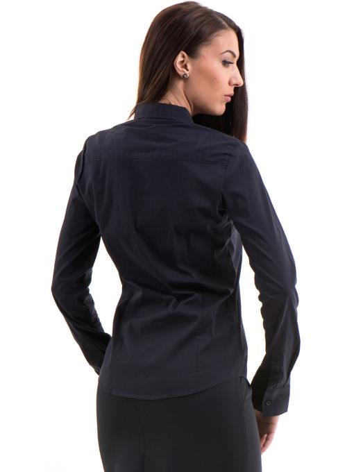 Дамска риза JOGGY GIRLS 5566 - тъмно синя B