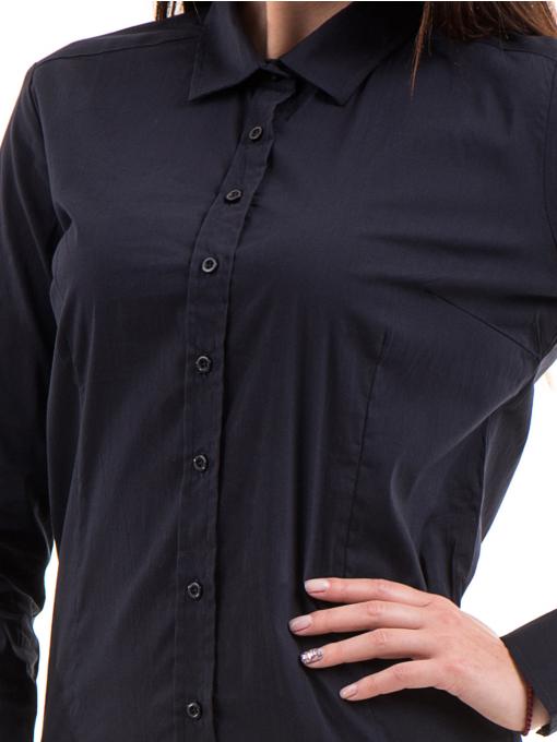 Дамска риза JOGGY GIRLS 5566 - тъмно синя D