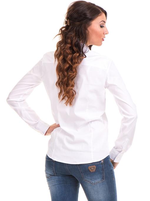 Дамска риза JOGGY GIRLS 5566 - бяла B