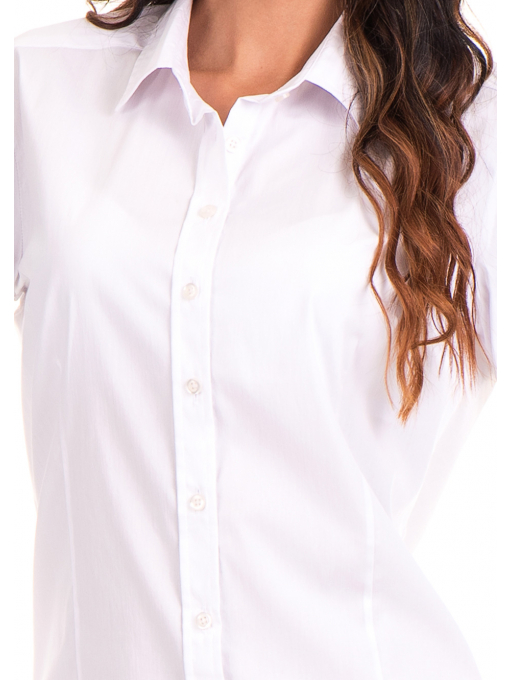 Дамска риза JOGGY GIRLS 5566 - бяла D