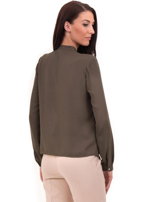 Дамска елегантна риза KOTON 62301 - цвят каки B