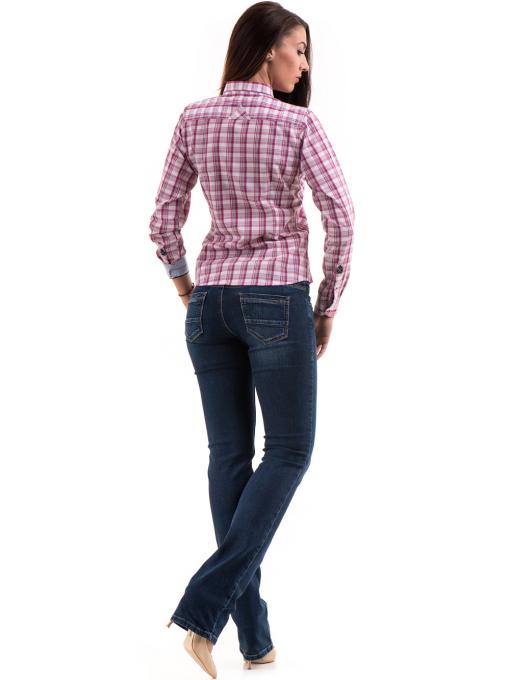 Дамска риза RIV/SD 20152 - тъмно розова E