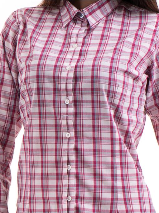 Дамска риза RIV/SD 20152 - тъмно розова D