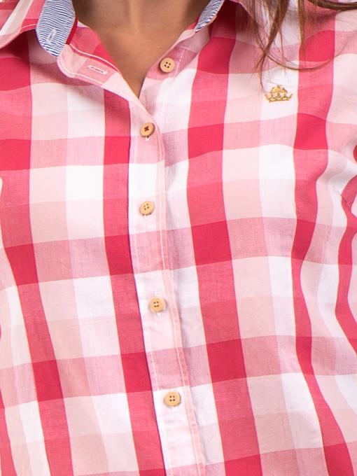Дамска риза RIV/SD 20157 - цвят корал D