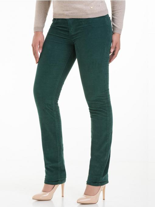 Дамски  панталон CONS 6379 - зелен