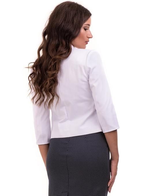 Дамско сако MODE CLASS - бяло от Indigo Fashion 1