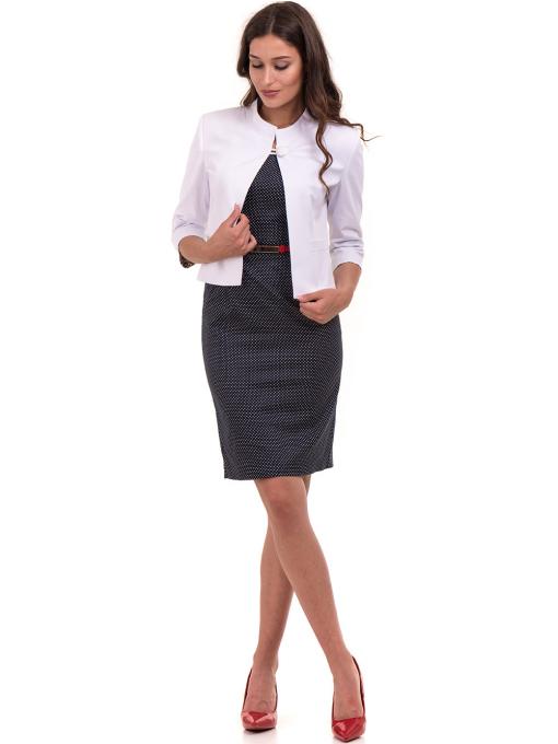 Дамско сако MODE CLASS - бяло от Indigo Fashion 2