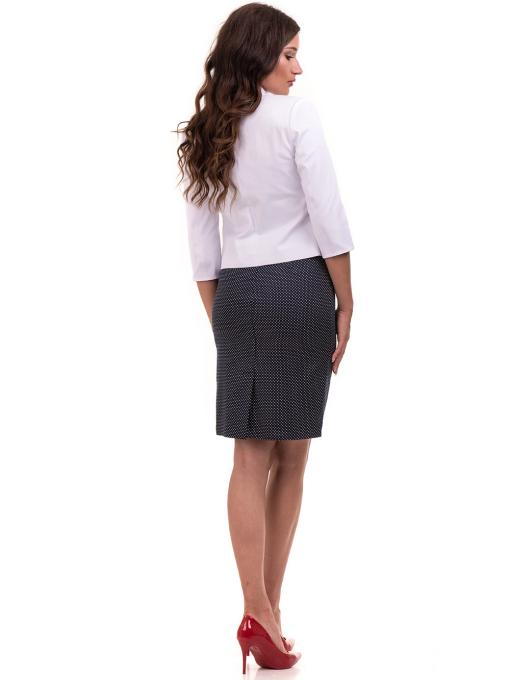 Дамско сако MODE CLASS - бяло от Indigo Fashion 3