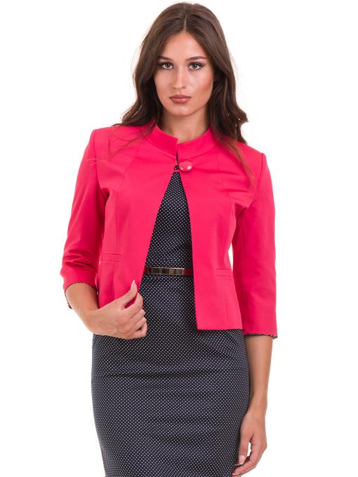 Дамско сако MODE CLASS - тъмно розово от Indigo Fashion