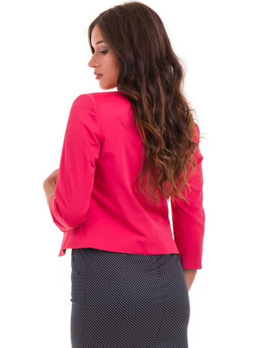 Дамско сако MODE CLASS - тъмно розово от Indigo Fashion 1