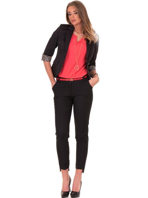 Дамско сако MODE CLASS - черно от Indigo Fashion 2