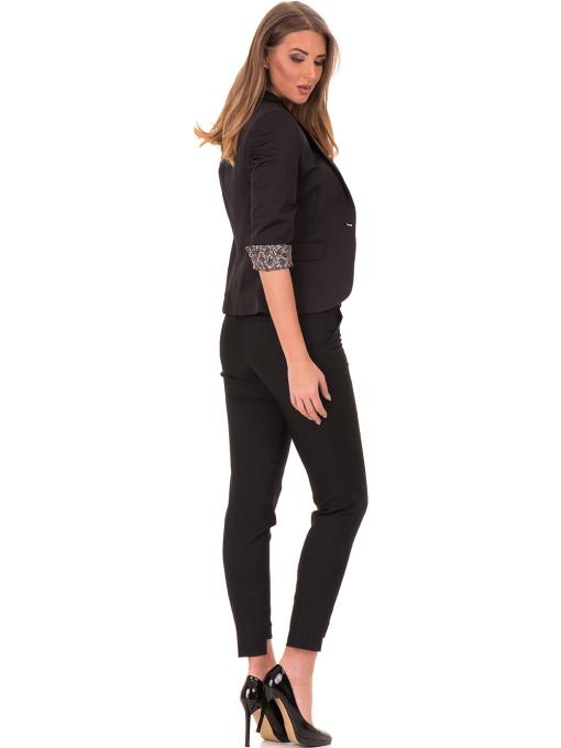 Дамско сако MODE CLASS - черно от Indigo Fashion 3