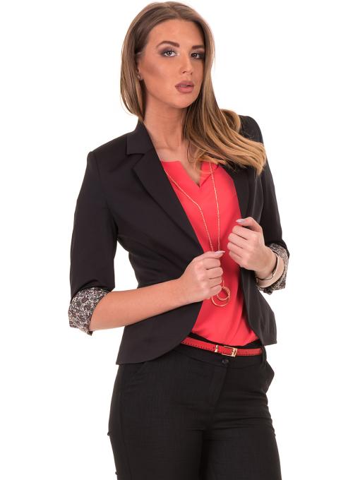 Дамско сако MODE CLASS - черно от Indigo Fashion