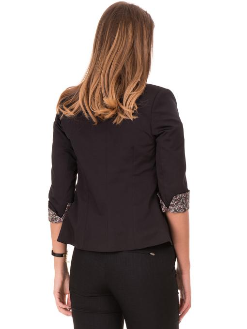 Дамско сако MODE CLASS - черно от Indigo Fashion 1