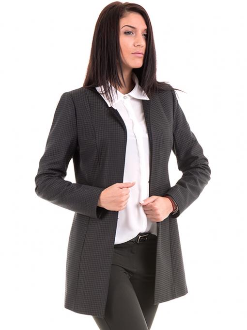 Дамско сако MODE CLASS 1169 цвят каки