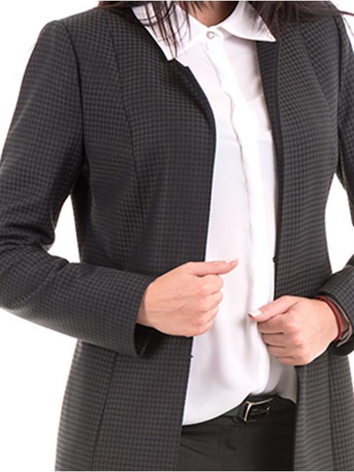 Дамско сако MODE CLASS 1169 цвят каки D