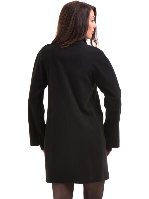 Елегантно дамско палто ICON 9201- черно B