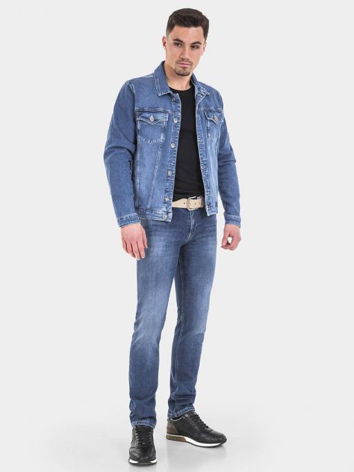 Класическо мъжко дънково яке 6216 INDIGO Fashion
