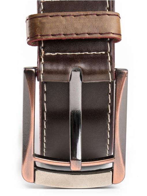 Колан от еко кожа с метална тока 3762 INDIGO Fashion