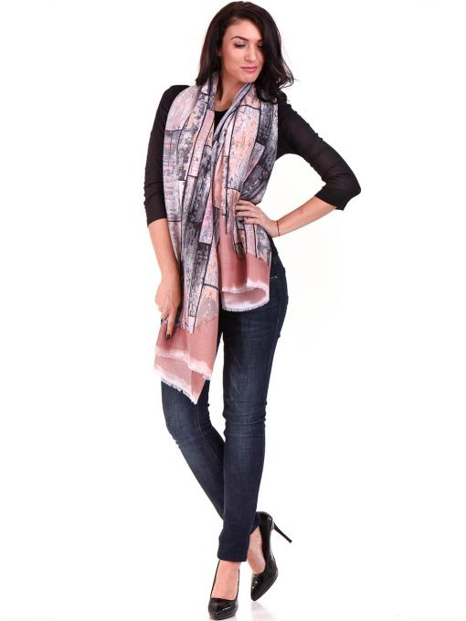 Дамска вталена блуза STAMINA 12375 - черна C1