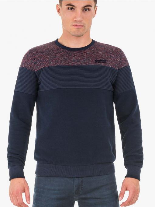 INDIGO Fashion - Мъжки пуловер MCL 29168 - големи размери